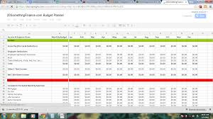 How To Make Budget Spreadsheet How To Setup A Spreadsheet Laobingkaisuo Com