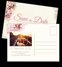 postkarten designen save the date postkarten zur hochzeit selbst gestalten