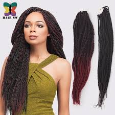 hair extensions styles ombre senegalese twist synthetic hair afro crochet braid styles