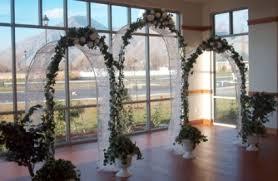 indoor wedding arch white indoor outdoor wedding arches