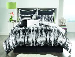 Distressed Grey Bedroom Set Bedroom Luxury Embossed Solid Oversized Bedding With Black And