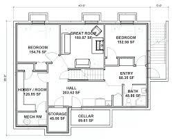 basement floor plans ideas basement plans travelandwork info