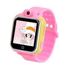 kideaz 3g kids gps smart watch anti lost tracker color touch screen