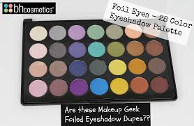 review swatches new bh cosmetics foil eyes u2013 28 color eyeshadow