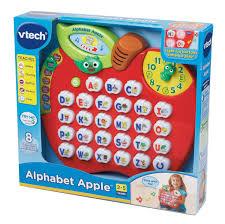 amazon com vtech alphabet apple toys u0026 games