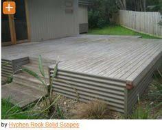 corrugated metal timber framing slanted roof 1 2 walls raised