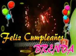 imagenes de cumpleaños para brenda feliz cumpleaños brenda youtube