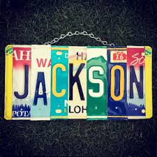 car themed home decor family name license plate sign ohana family personalized sign