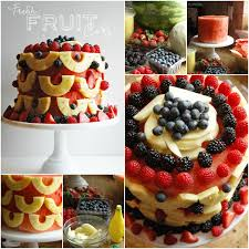 cake diy how to diy no bake fresh fruit cake