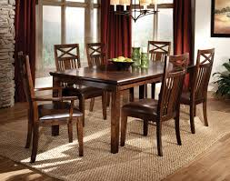 dining room contemporary homelegance yates trestle dining table