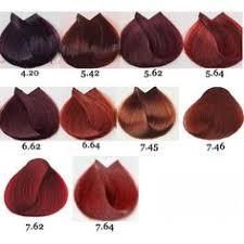loreal hair color chart ginger palitra kraski dlya volos majirel l oreal professionnel7 cabello