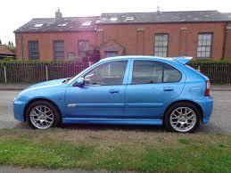 mg zr 105 1 4 petrol 5 door manual 2005 metallic light blue rare