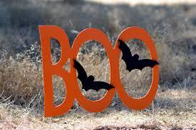 halloween boo yard sign