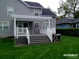Pergola And Decking Designs by Design Ideas U2013 Outdoor Living With Archadeck Of Chicagoland