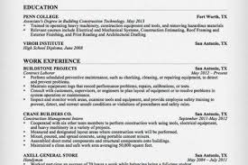 General Laborer Sample Resume by General Labor Resume Objective Examples Reentrycorps