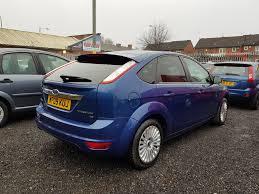 2009 ford focus 1 6 titanium 5dr blue u2013 bradford road car sales