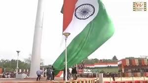 How To Hoist A Flag Hoisting Of World U0027s Largest U0026 Tallest Tiranga Indian National