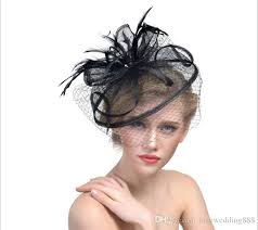 hair accessories melbourne ful 2017 european fascinator hat feather handamde sinamany