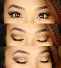liquid eyeliner tutorial asian neutral eyes for hooded small lid space monolids asian makeup