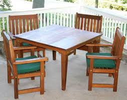 Cedar Patio Table Creekvine Designs Cedar Patio Furniture Sets On Sale