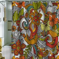 Colored Shower Curtain Modern Bright Shower Curtains At In Seven Colors Colorful Designs