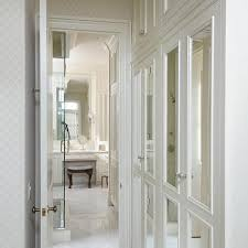 Mirror Doors For Closet Built In Closet With Mirrored Doors Design Ideas