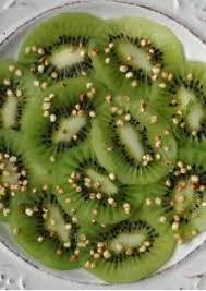 eau de fleur d oranger cuisine carpaccio de kiwi à l eau de fleur d oranger