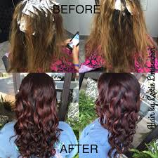 redken strawberry blonde hair color formulas beautiful red violet color using redkens shades eq gloss equal