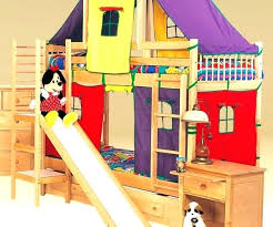 Bunk Bed With Slide And Tent Home Design Software Free Kid Bunk Beds Unique Pirate Bed