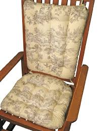 French Country Chair Cushions - buy rocking chair cushion set musee toile french country