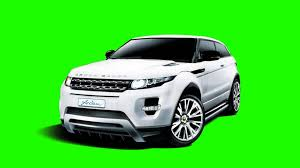 green range rover range rover arden in green screen free stock footage youtube