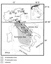 Bilinear Map The Attenuation Of Seismic Intensity In Italy A Bilinear Shape