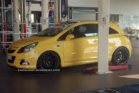 opel yellow webauto tk opel corsa opc nürburgring edition spy shots