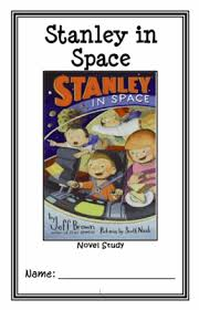 flat stanley stanley in space jeff brown novel study reading