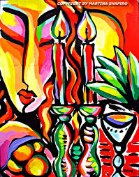 whimsical paintings of judaica oil paintings u2013 abstract still