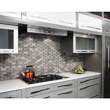 shop anatolia tile silver creek diamond mosaic natural stone wall