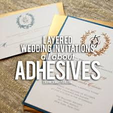 layered wedding invitations layered wedding invitations all about adhesives wedding studio