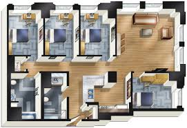 floors plans apartments for rent in downtown chicago the buckingham chicago