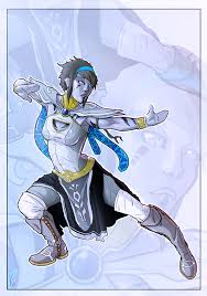 pathfinder android commission android monk by stefanomarinetti on deviantart