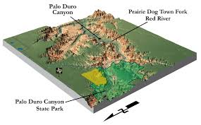 palo duro state park map surfer to generate stunning shaded relief and perspective maps