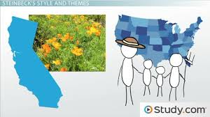 grapes of wrath themes and symbols john steinbeck grapes of wrath and other works video lesson