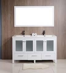 Vanities Canada Anziano 36 Inch High Gloss White Bathroom Vanity W Quartz Top