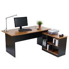 Arbeitstisch Ecke Schreibtisch Bürotisch Eckschreibtisch Calgary 160x150x75cm Rotes