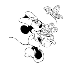 minnie mouse Coloriage  minnie  Pinterest