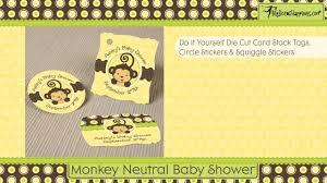 monkey neutral baby shower theme youtube