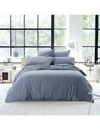 Tommy Hilfiger Duvet Reilly Queen Quilt Cover Set Denim Duvet Covers Queen Tommy