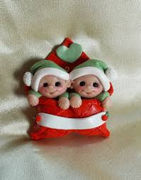 twin baby ornament twin ornament baby u0027s first christmas