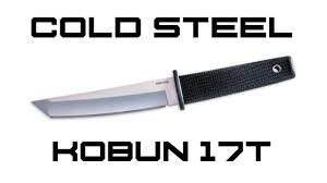 cold steel kobun review knifehog youtube