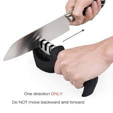 kitchen knives sharpening kitchen knife sharpener 3 stage knife sharpening tool helps