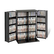 amazon com cherry u0026 black locking media storage cabinet kitchen